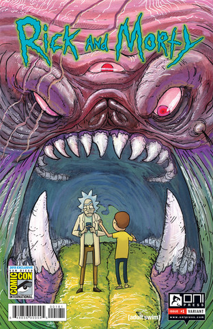 sdcc rick and morty