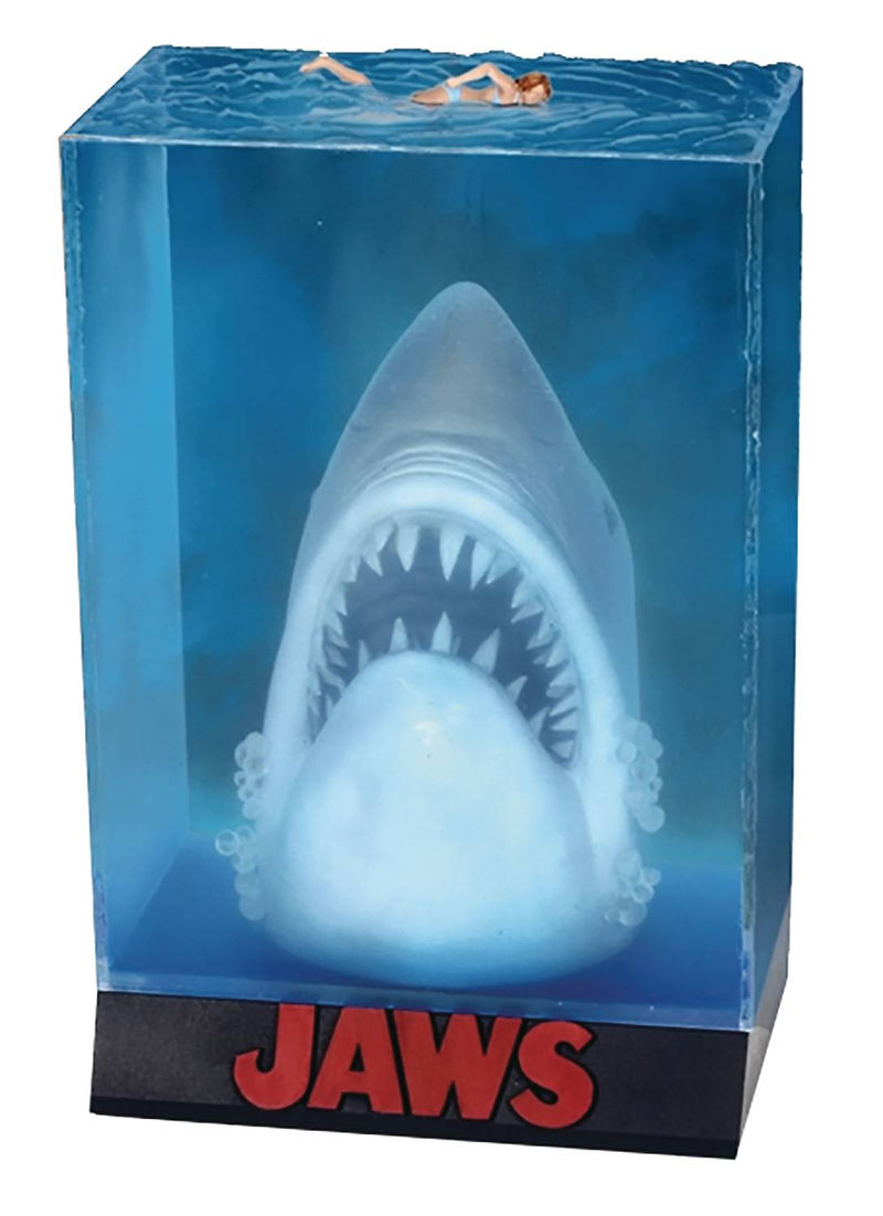 Jaws Movie Poster Statue